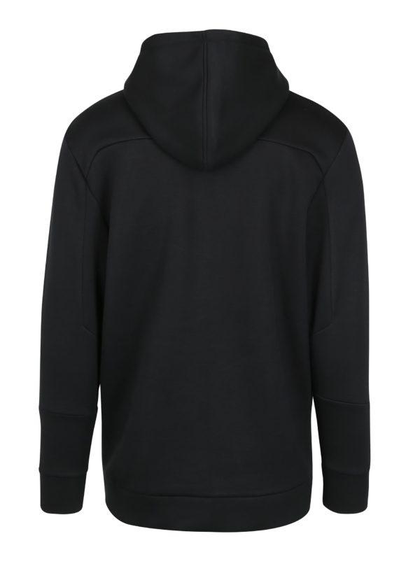 Čierna pánska mikina s vreckami Calvin Klein Jeans Hodes