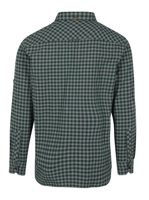 Zelená pánska regular košeľa s vreckami s.Oliver