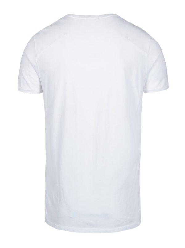 Biele pánske tričko Calvin Klein Jeans Bron