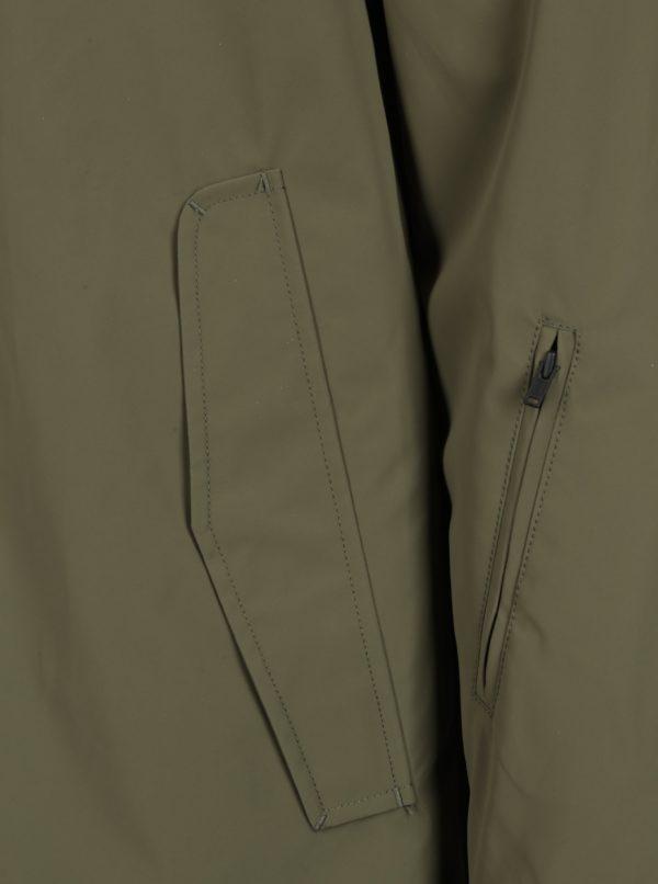 Kaki pánsky kabát RVLT