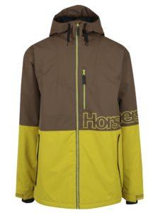Žlto-hnedá pánska zimná bunda Horsefeathers Cline