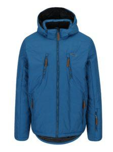 Modrá pánska lyžiarská funkčná vodovzdorná bunda LOAP Fallon