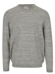 Béžový melírovaný tenký sveter ONLY & SONS Alex