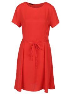 Červené šaty s krátkym rukávom ONLY Riga
