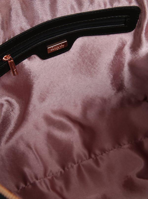 Čierna kvetovaná kabelka do ruky Liberty by Gionni Fleur