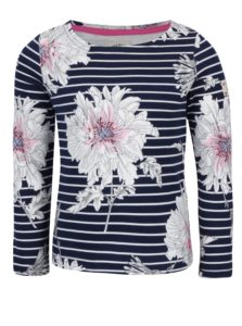 Krémovo-modré tričko s dlhým rukávom Tom Joule