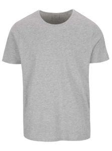 Svetlosivé basic tričko Burton Menswear London