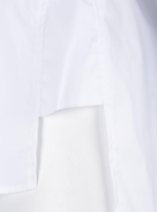 Biela blúzka s 3/4 rukávmi Ulla Popken