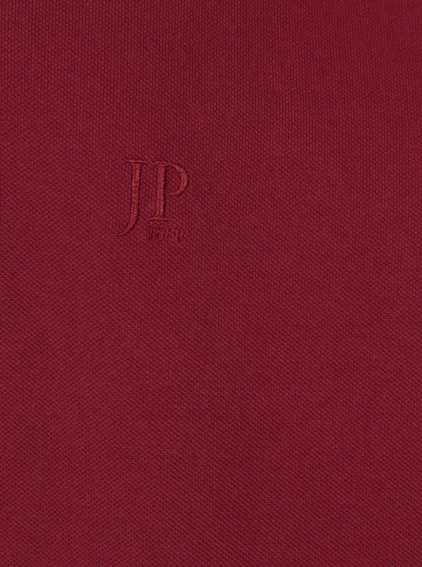 Červená polokošeľa s dlhým rukávom JP 1880