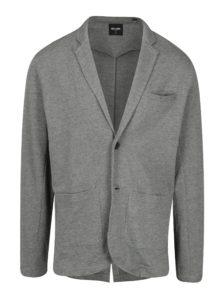 Sivé melírované mikinové sako ONLY & SONS Thiago
