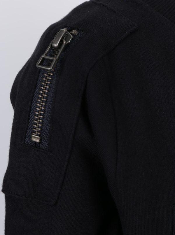 Čierna chlapčenská mikina s náprsným vreckom name it Pado