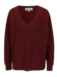 Červený vlnený sveter Selected Femme Livana
