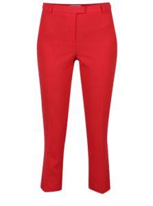 Červené skrátené nohavice Miss Selfridge