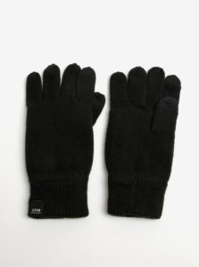 Čierne rukavice Jack & Jones DNA