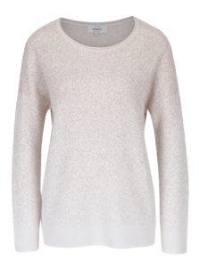 Krémový melírovaný sveter ONLY Patricia