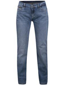 Modré dámske straight fit rifle Calvin Klein Jeans Mid