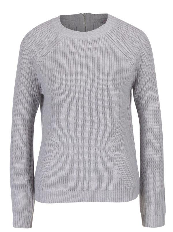 Svetlosivý zimný sveter Dorothy Perkins Petite