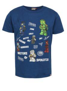 Modré chlapčenské tričko s potlačou Ninjago Lego Wear Teo
