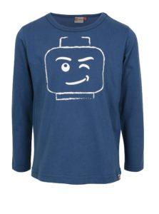 Modré chlapčenské tričko s potlačou Lego Wear Teo