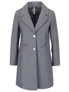 Sivý melírovaný kabát Dorothy Perkins Petite