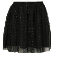 Čierna dievčenská sukňa s bodkami v zlatej farbe Lego Wear Danica