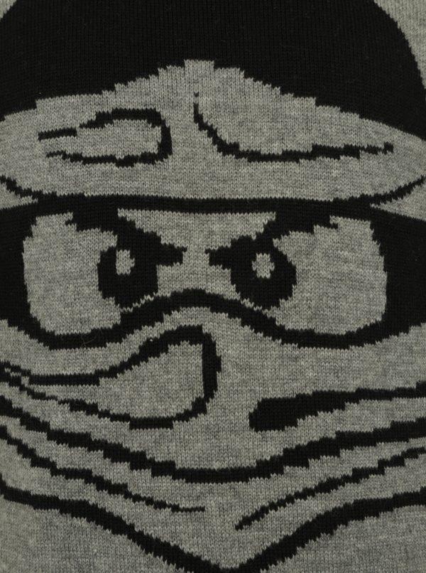 Tmavosivý chlapčenský sveter Ninjago Lego Wear Kyle