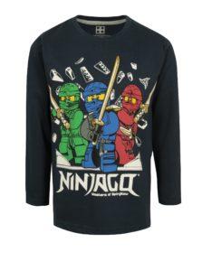 Tmavomodré chlapčenské tričko s potlačou Ninjago Lego Wear