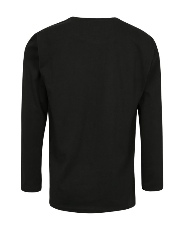 Čierne chlapčenské tričko s potlačou Lego Wear