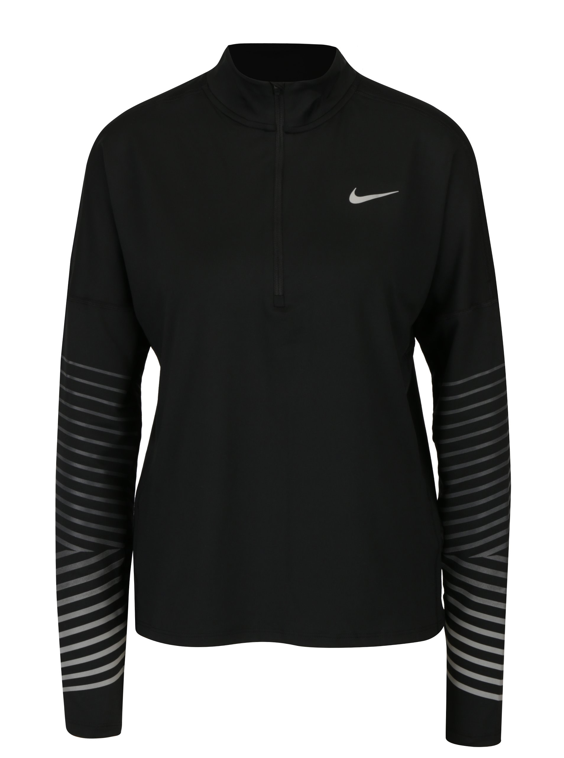9fbdbb651994 Čierne dámske funkčné tričko s dlhým rukávom Nike Element Flash ...