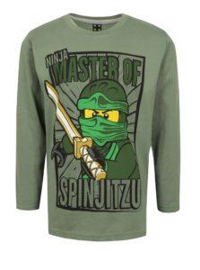 Zelené chlapčenské tričko s potlačou Lego Wear