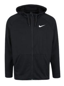 Čierna pánska funkčná mikina s kapucňou Nike Hoodie