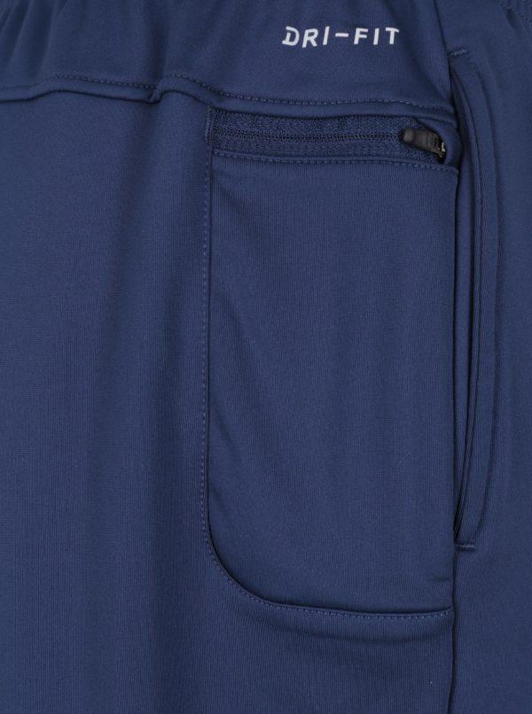 Modré pánske funkčné tepláky Nike