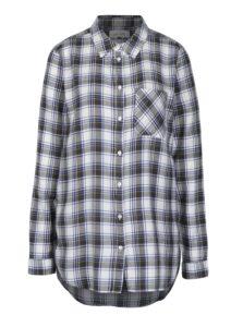 Krémová károvaná košeľa Blendshe Lucy