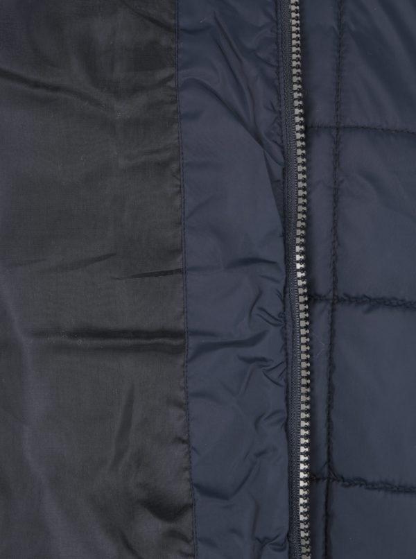 Tmavomodrá prešívaná vesta Seven Seas Second