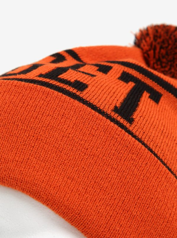 Oranžová pánska čiapka Nugget Canister