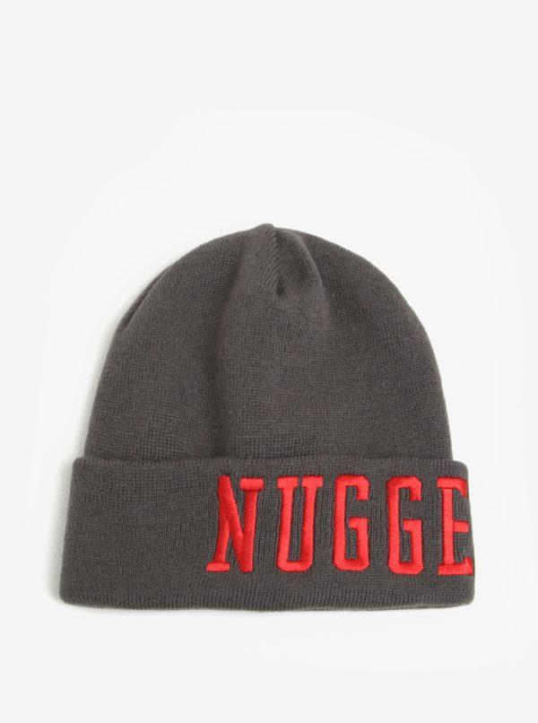 Sivá pánska čiapka s výšivkou Nugget Jordan