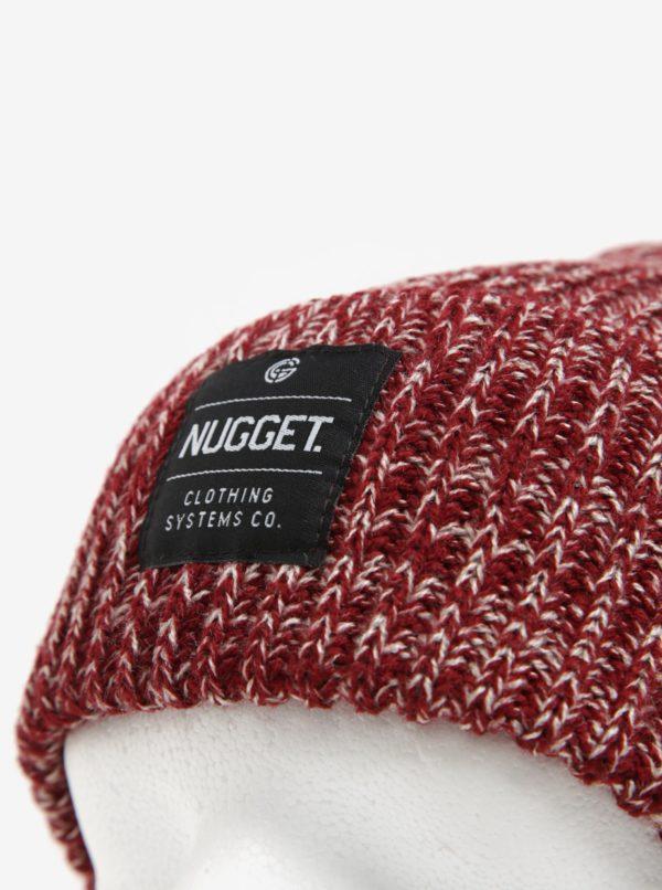 Vínová pánska čiapka Nugget Killer