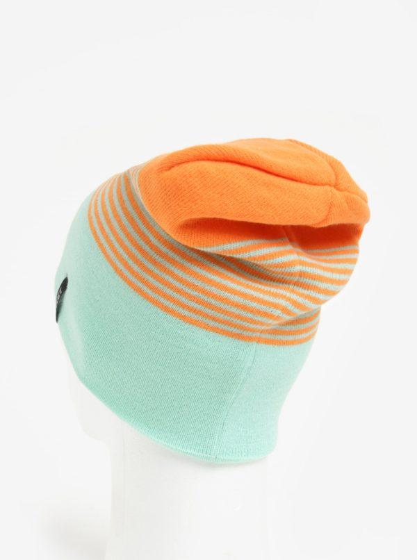 Oranžovo-mentolová dámska čiapka Nugget Token