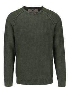 Zelený pánsky sveter Garcia Jeans