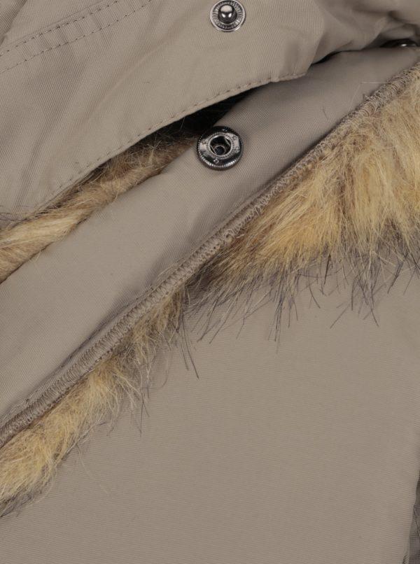 Béžová zimná bunda Shine Original