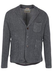 Sivé melírované mikinové sako Jack & Jones Vintage Danley