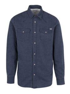 Tmavomodrá košeľa Jack & Jones Vintage Galway