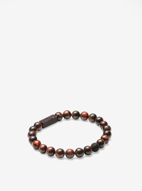 Hnedý náramok BeWooden Tauris Bracelet