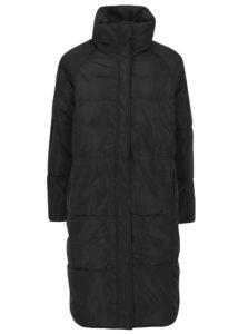 Čierny prešívaný zimný kabát VERO MODA Diva