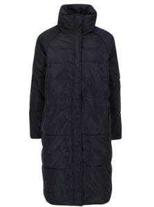Tmavomodrý prešívaný zimný kabát VERO MODA Diva