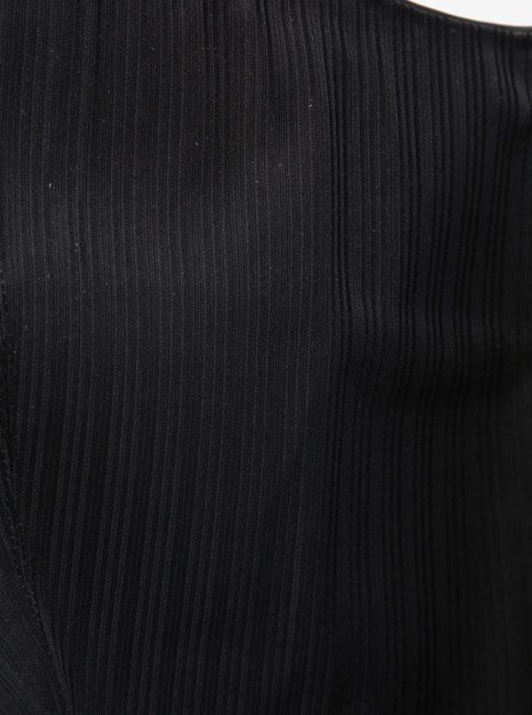 Čierne dámske kožené čižmy Vagabond Cary