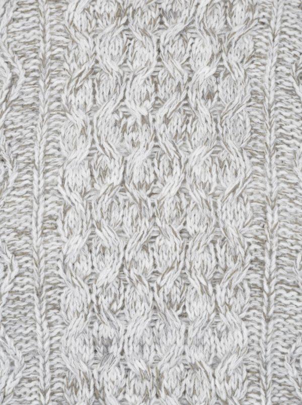 Krémový melírovaný sveter s prímesou vlny ONLY & SONS Heath