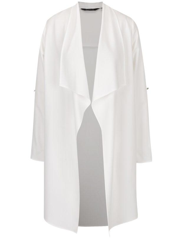 Krémový tenký kabát Dorothy Perkins
