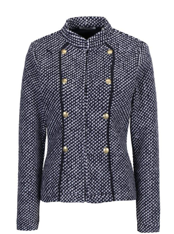 Modrý krátky kabát Rich & Royal