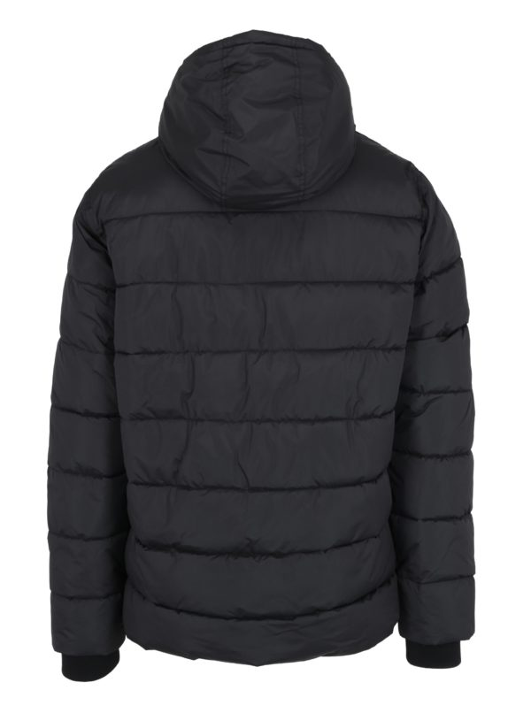 Čierna prešívaná bunda Burton Menswear London